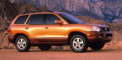 2001 Hyundai Santa Fe Review, Ratings, Specs, Prices, And Photos   The Car  Connection