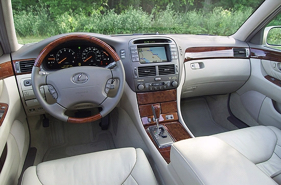 2001 lexus ls review, ratings, specs, prices, and photos - the car