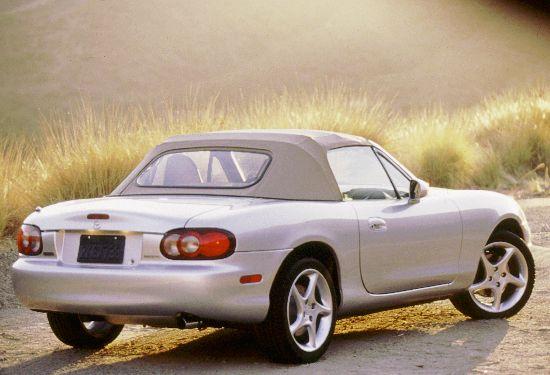 2001 Mazda Miata rear