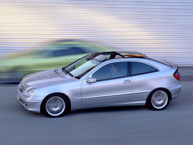 2001 Mercedes C Class Coupe
