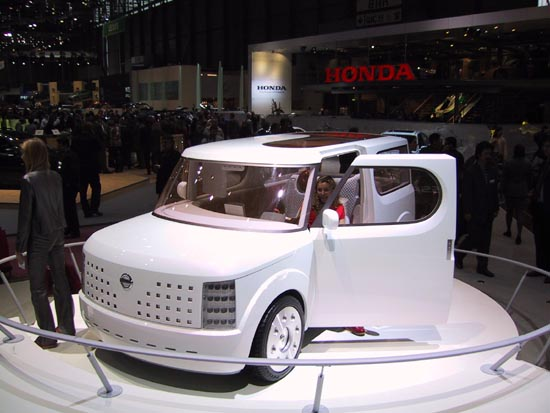 2001 Nissan Swiss Cheese concept