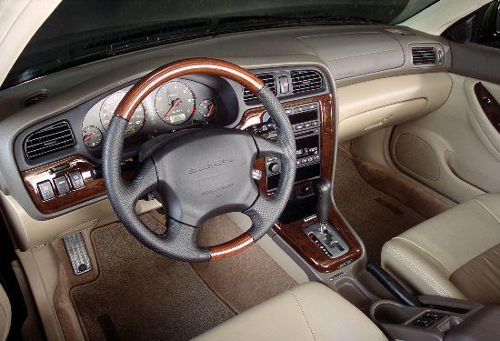 Image: 2001 Subaru Outback H6-3.0 interior, size: 550 x ...