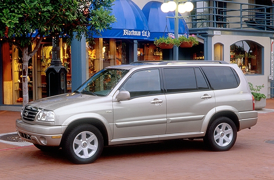 2001 Suzuki XL7 Review, Ratings, Specs, Prices, and Photos - The Car