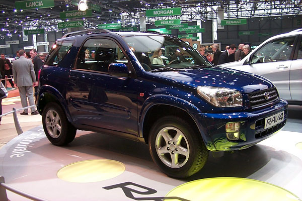 2001 Toyota RAV4 two door