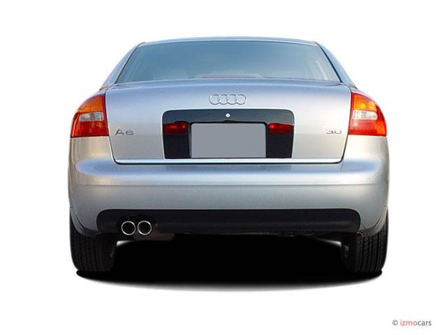 image 2003 audi a6 4 door sedan 3 0l cvt rear exterior view size 640 x 480 type gif posted. Black Bedroom Furniture Sets. Home Design Ideas