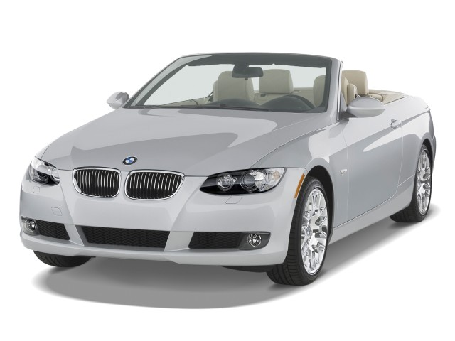 2010 BMW 3-Series 2-door Convertible 328i Angular Front Exterior View