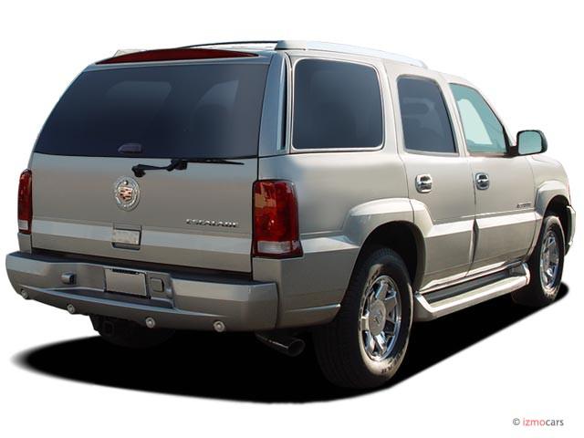 Image: 2005 Cadillac Escalade 4-door 2WD Angular Rear ...