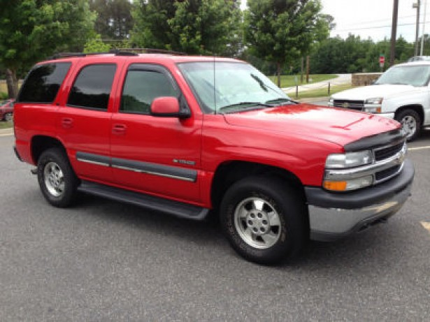 2002 Chevrolet Tahoe used car
