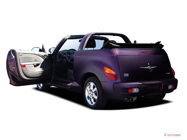 image 2006 chrysler pt cruiser 2 door convertible touring. Black Bedroom Furniture Sets. Home Design Ideas
