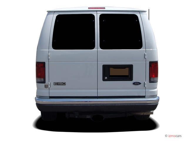 image  ford econoline wagon   xl rear exterior view size    type gif posted