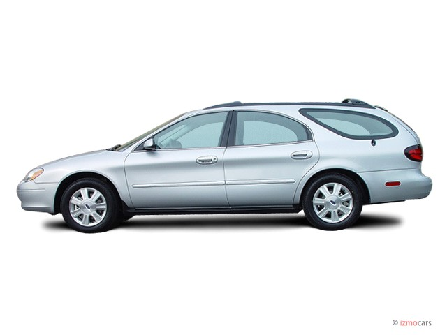 2003 Ford Taurus 4 Door Wagon Sel Deluxe Side Exterior View