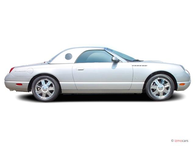 2005 Ford Thunderbird 2-door Convertible Deluxe Side Exterior View