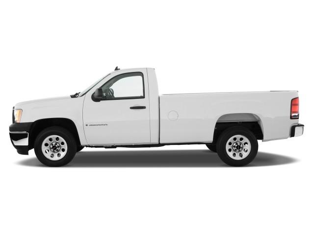 image 2010 gmc sierra 1500 2wd reg cab 133 0 work truck side exterior view size 640 x 480. Black Bedroom Furniture Sets. Home Design Ideas