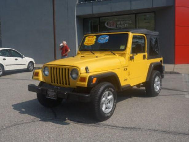2002 Jeep Wrangler used car