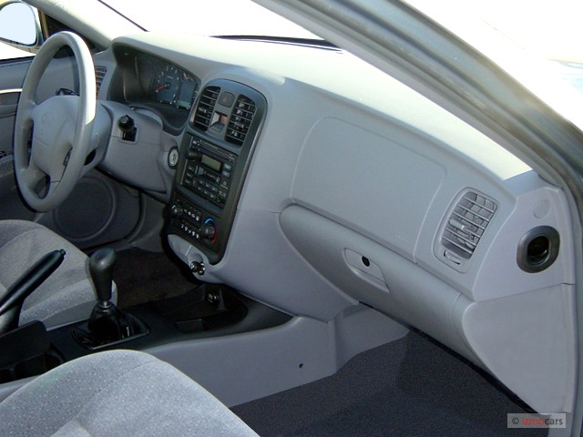 image 2003 kia optima 4 door sedan lx manual dashboard. Black Bedroom Furniture Sets. Home Design Ideas