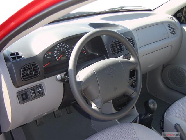 Image 2003 Kia Rio 4 Door Wagon Cinco Manual Dashboard