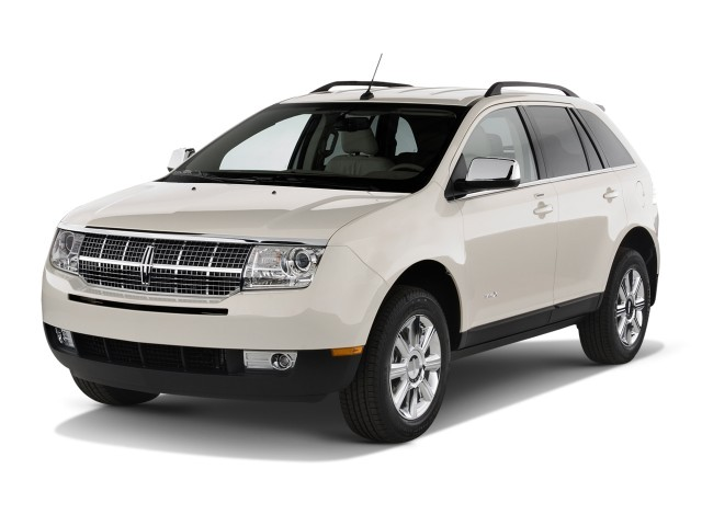 Angular Front Exterior View - 2010 Lincoln MKX AWD 4-door