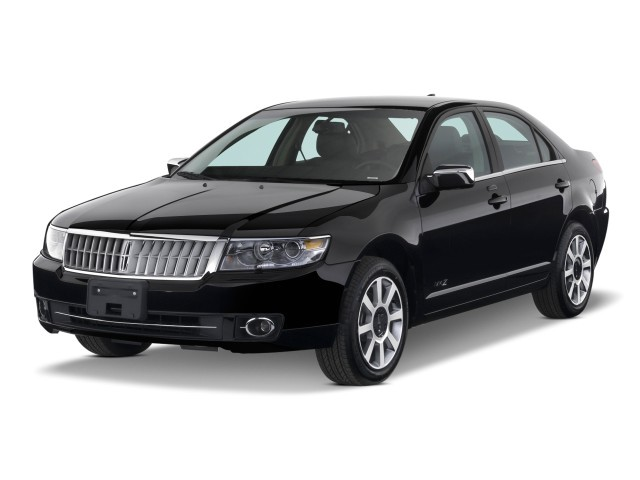 2009 Lincoln MKZ 4-door Sedan AWD Angular Front Exterior View
