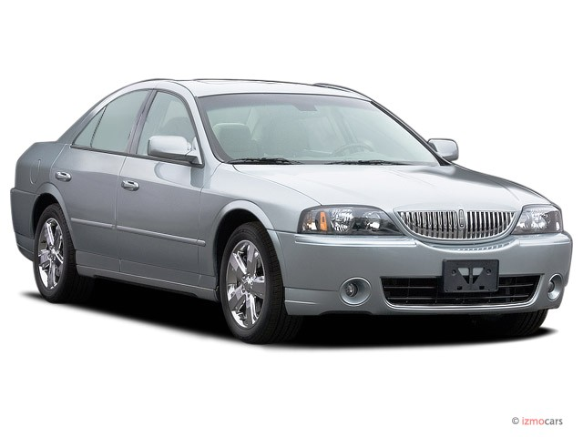 2006 Lincoln LS 4-door Sedan V8 Sport Angular Front Exterior View