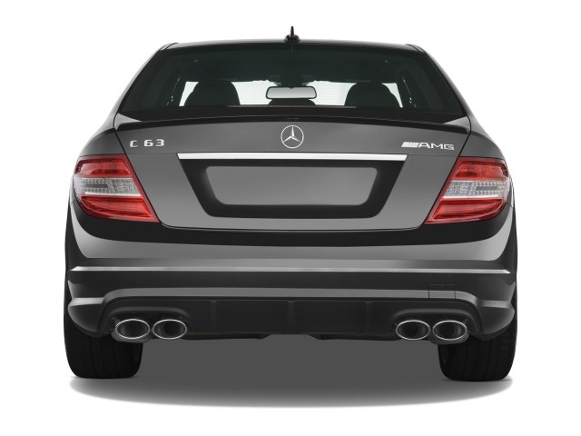 Image: 2009 Mercedes-Benz C Class 4-door Sedan 6.3L AMG RWD Rear Exterior View, size: 640 x 480 ...