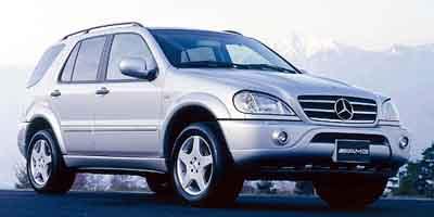 2002 Mercedes Benz M Class AMG