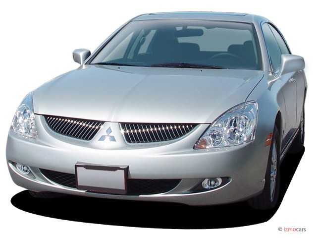 2004 Mitsubishi Diamante 4-door Sedan LS 3.5L Sportronic Angular Front Exterior View