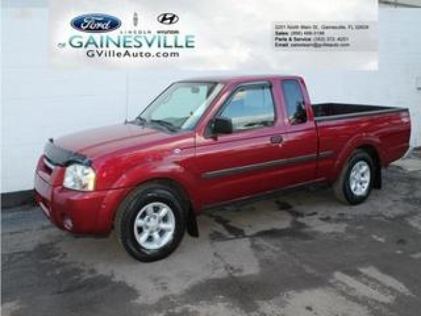 2002 Nissan Frontier used car