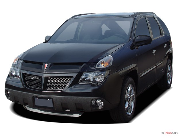 2005 Pontiac Aztek 4-door All Purpose FWD Angular Front Exterior View