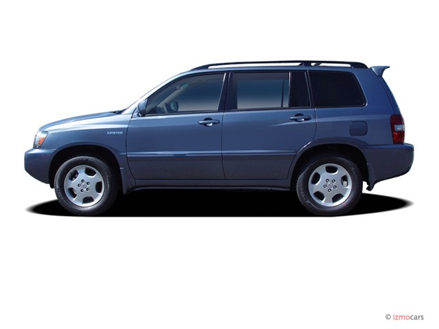 image 2007 toyota highlander 4wd 4 door v6 limited w 3rd row natl side exterior view size. Black Bedroom Furniture Sets. Home Design Ideas