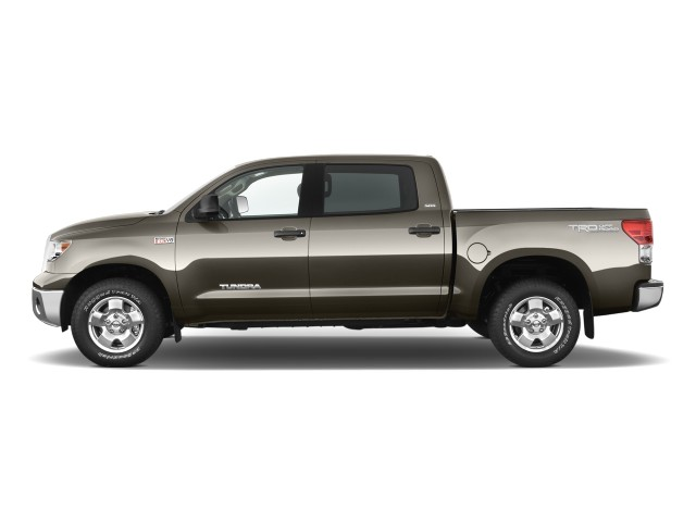 Side Exterior View - 2010 Toyota Tundra CrewMax 5.7L V8 6-Spd AT Grade (Natl)
