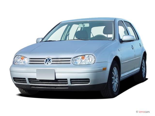 2005 Volkswagen Golf 4-door HB GLS TDI Manual Angular Front Exterior View