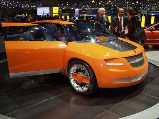 2002 Bertone Novanta concept