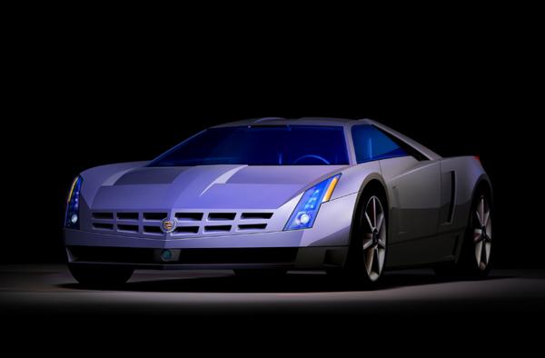2002 Cadillac Cien concept, Detroit Auto Show