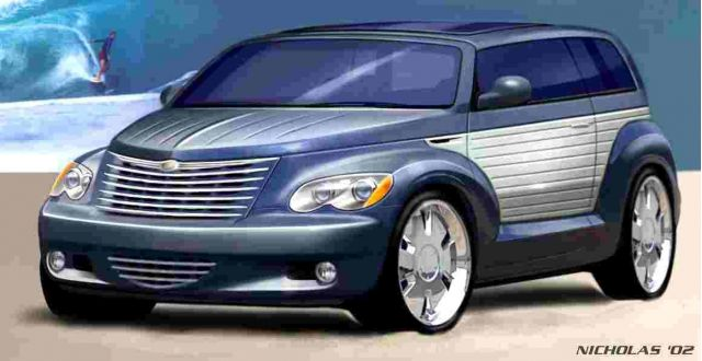 2002 Chrysler Cali Cruiser concept