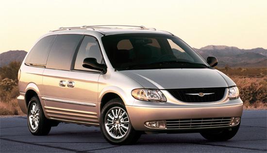 2002 Chrysler Minivan