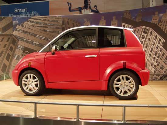 2002 Ford TH!NK City EV