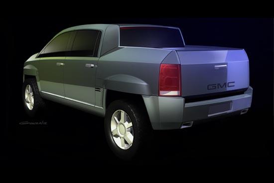 2002 GMC Terra4 concept truck
