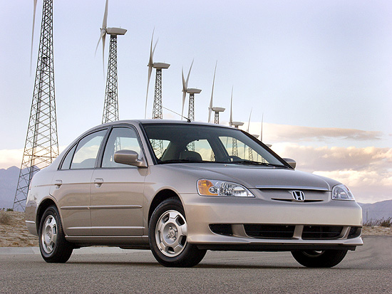 2002 Honda Civic Hybrid
