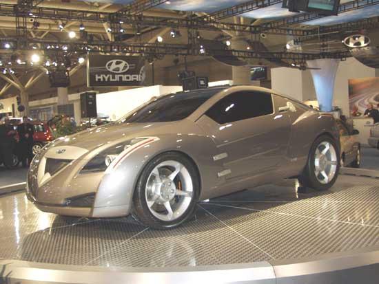 2002 Hyundai Clix concept
