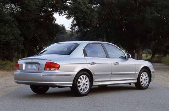 2002 Hyundai Sonata Review