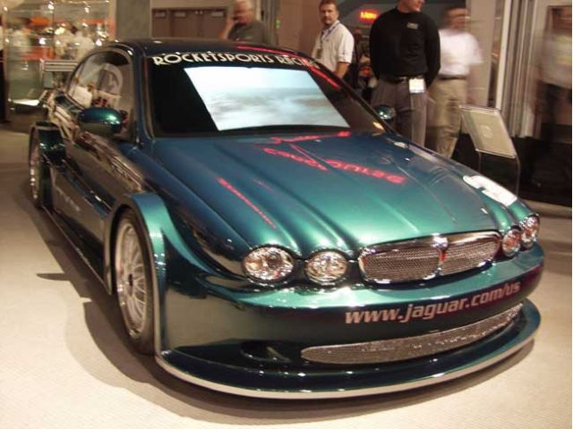 2002 Jaguar racing concept