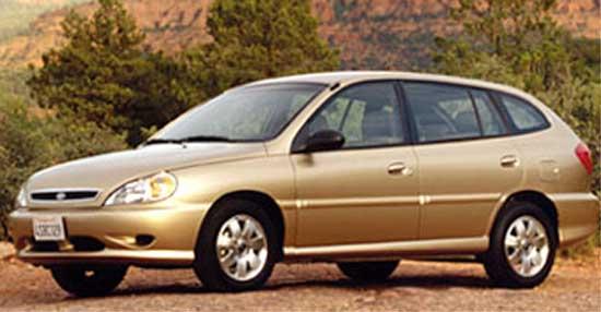 2002 Kia Rio Cinco