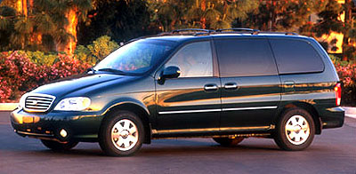 2002 Kia Sedona Review Ratings Specs Prices And Photos The Car Connection