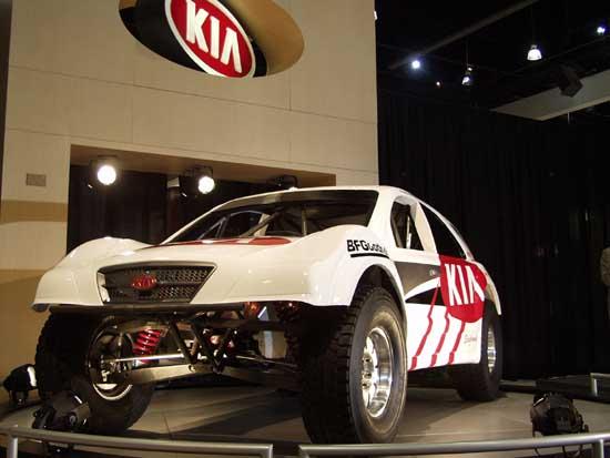 2002 Kia Trophy Truck Racer