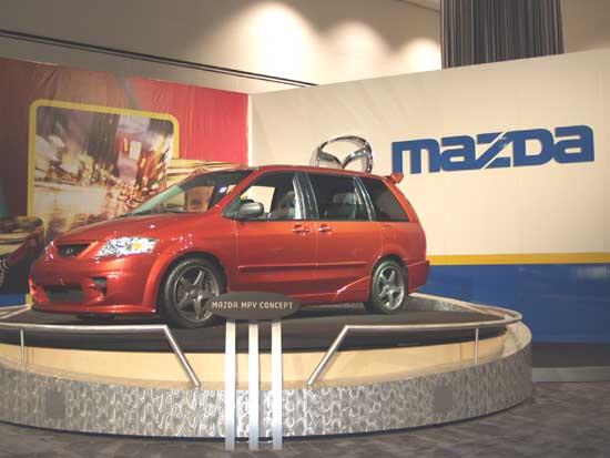 2002 Mazda MPV Concept