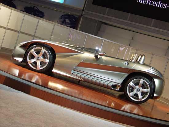2002 Mercedes-Benz F400 concept