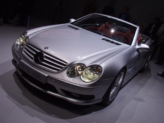 2002 Mercedes-Benz SL55