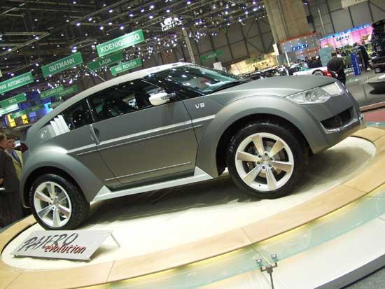 2002 Mitsubishi Evo II concept