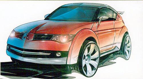 2002 Mitsubishi Pajero concept