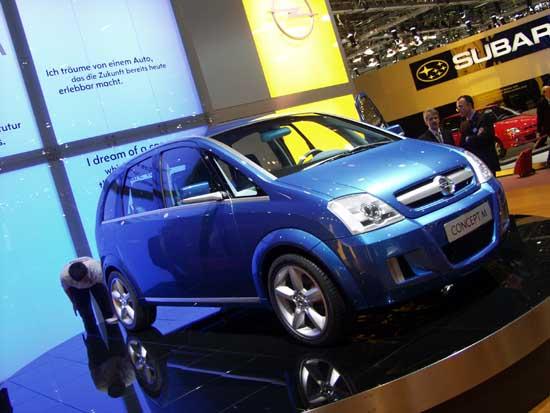 2002 Opel Concept M concept